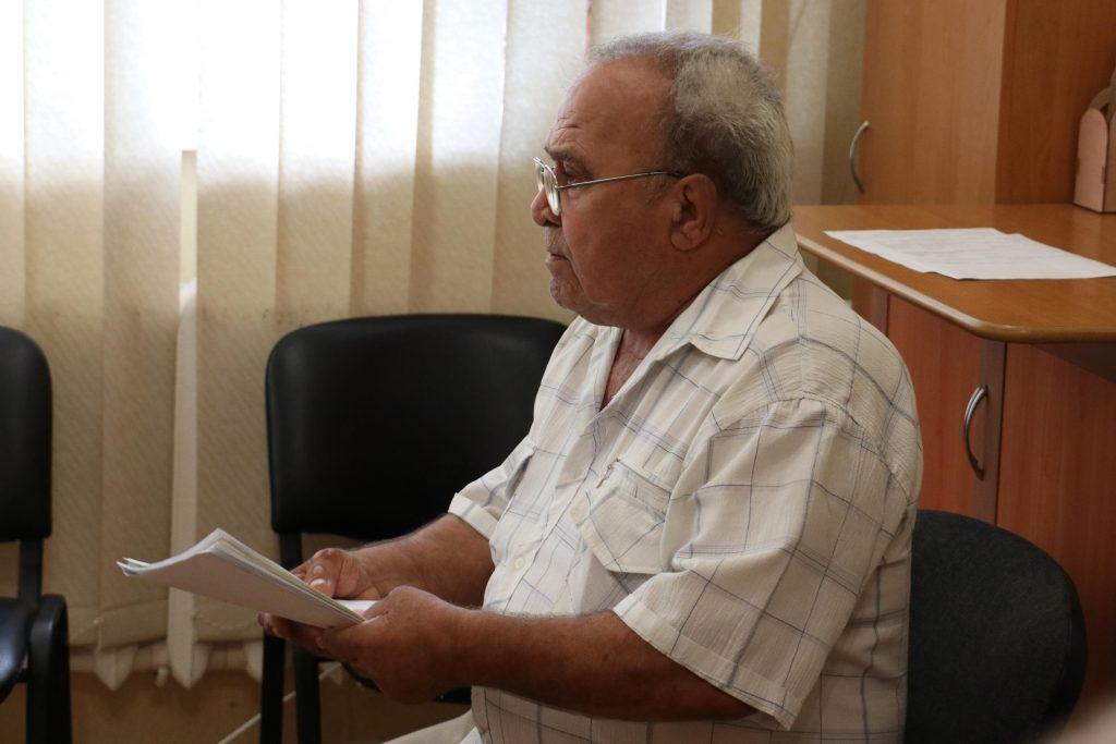 Исполняющий обязанности главы администрации Михаил Афанасьев провел прием граждан.